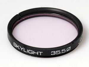 Unbranded 35.5mm Skylight Filter