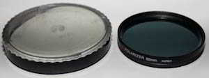 Unbranded 62mm polarising Filter
