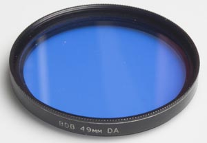 BDB 49mm DA Blue Filter