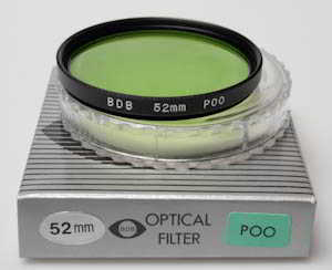 BDB 52mm P00 green Filter