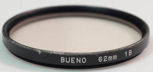 Unbranded 62mm skylight 1B Filter