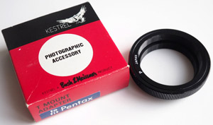 Bush & Meissner T2 to M42 screw Lens adaptor