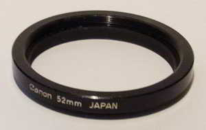 Canon 52mm extension ring Lens adaptor