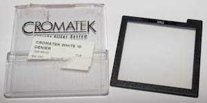 Cromatek MM2 White 10 Denier Stocking Filter