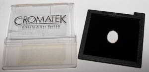 Cromatek V17 Small Black Oval vignette Filter