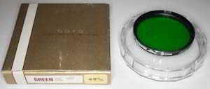 Goyo 49mm G (X1) green Filter