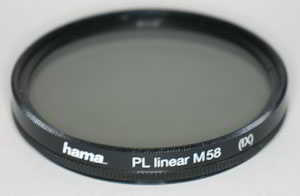 Hama 58mm Linear polarising Filter