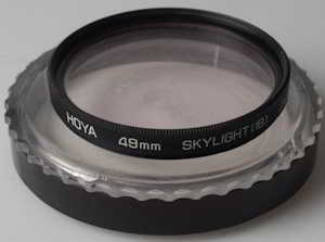 Hoya 49mm Skylight 1B Filter