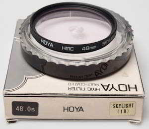 Hoya 48mm HMC Skylight 1B Filter