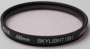 Hoya 48mm skylight 1B  Filter