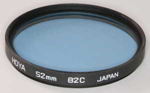 Hoya 52mm 82C blue Filter