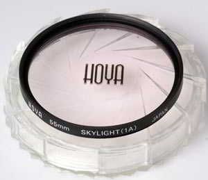 Hoya 55mm Skylight 1A    Filter