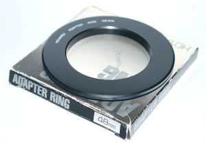 Hoyarex 48mm Filter Adaptor  Lens adaptor