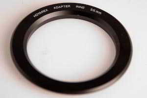 Hoyarex 55mm Filter Adaptor  Lens adaptor