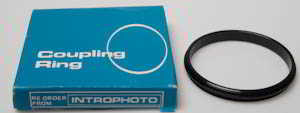 Introphoto 55mm to 55mm coupling ring Lens adaptor