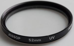 Jessops 52mm UV Filter