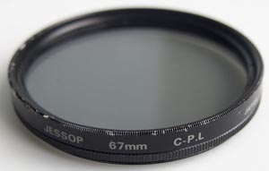 Jessops 67mm Linear polarising Filter