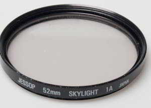Jessops 52mm Skylight 1A Filter