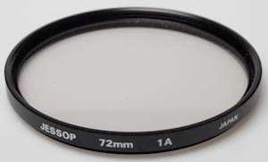 Unbranded 72mm Skylight 1A Filter
