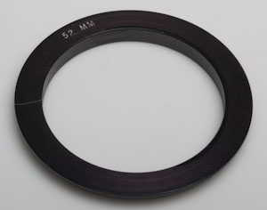 Jessops 52mm A series filter holder adaptor ring Lens adaptor