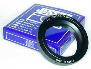 Jessops Contax Yashica T2 Mount Lens adaptor