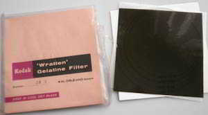 Kodak Wratten 3N 5 gelatin filter 4in (100mm) square  Filter