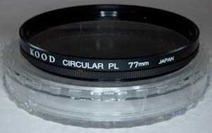 Kood 77mm circular polarising Filter