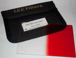 Lee 100x150  Pop Red Grad Hard Filter