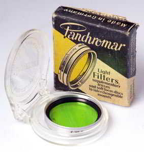 Panchromar 35.5mm Green Filter
