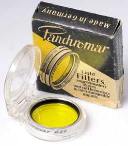 Panchromar 32mm yellow  Filter