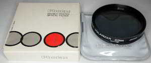 Photax 49mm Linear polarising Filter