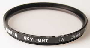 Sicor 55mm Skylight 1A    Filter