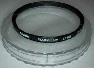 Sigma 72mm Close Up lens Filter