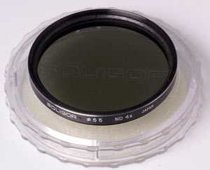 Soligor 55mm Neutral Density ND4x Filter