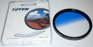 Tiffen 77mm blue grad  Filter