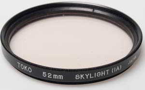 Toko 52mm Skylight 1A Filter