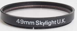 Unbranded 49mm skylight Filter