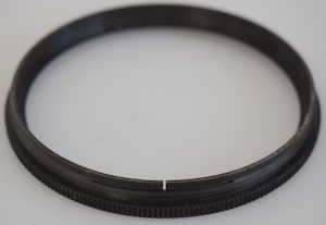 Unbranded brass black coated 67mm  Lens adaptor