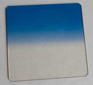 Unbranded 75mm Square blue grad Filter