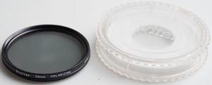 Vivitar 58mm Linear polarising Filter